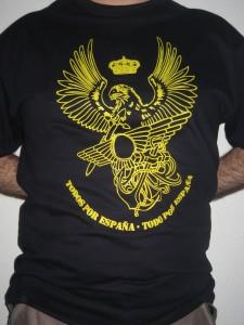 Serigrafía amarilla Azul Marino 10 €/u