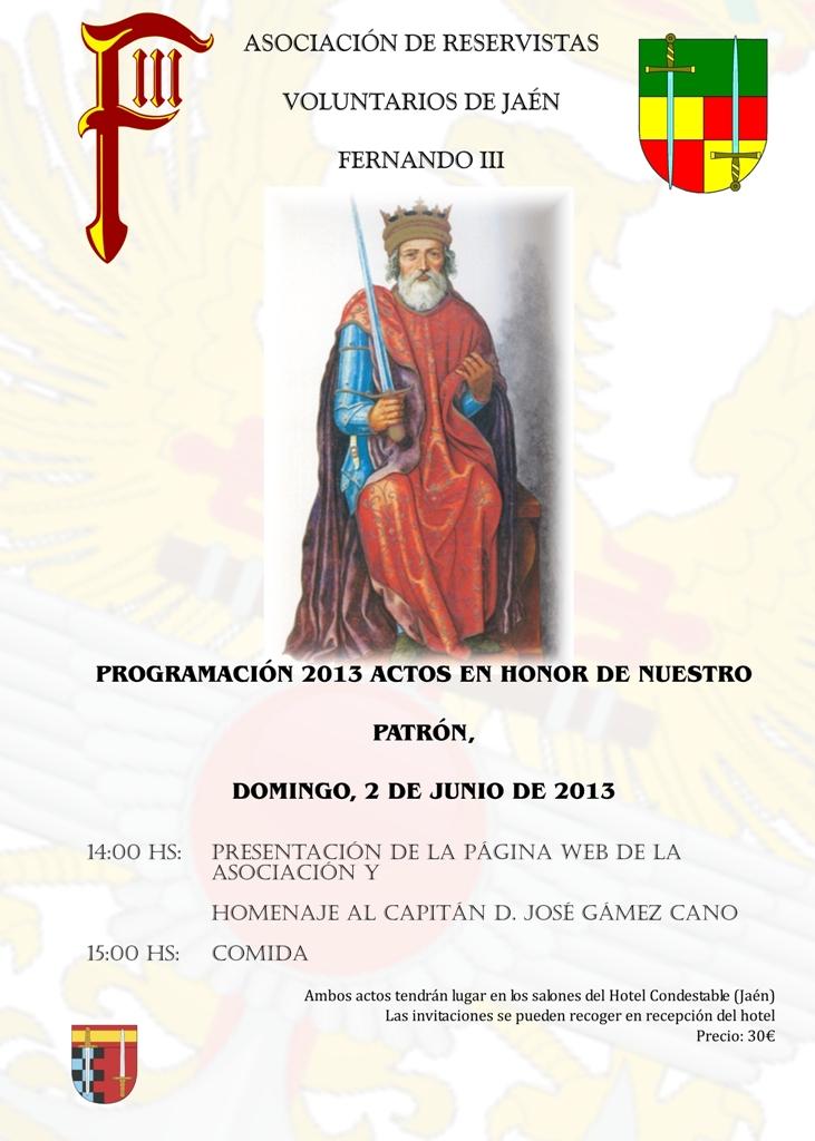 Actos 2013 Fernando III