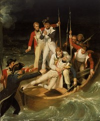 Nelson herido en Tenerife
