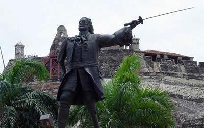Monumento a Blas de Lezo en Cartagena